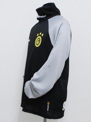 画像3: goleador ルーズネックプラシャツ ブラック
