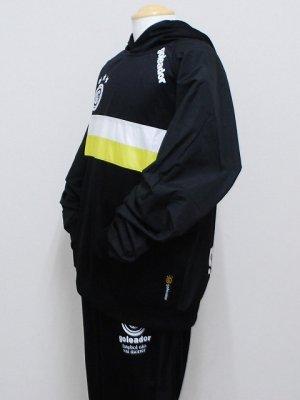 画像3: goleador スムースピステコンビネーションパーカー&パンツ ブラック/ブラック