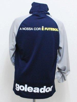 画像2: goleador ルーズネックプラシャツ D.ブルー