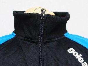 画像4: goleador スムースピステコンビネーションZIPジャケット&パンツ ターコイズ/ブラック