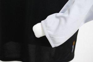 画像4: goleador ルーズネックプラシャツ ブラック