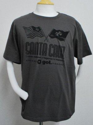 画像1: gol. SANTA CRUZ Tシャツ C.グレー