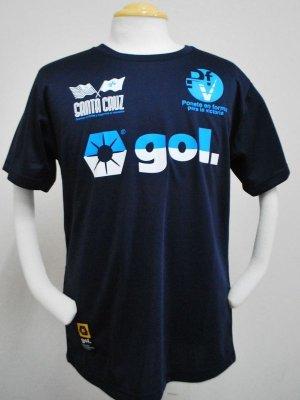 画像1: gol. 半袖ドライTシャツ NVY