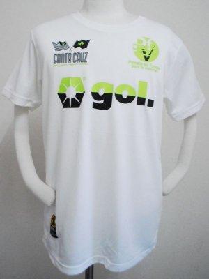 画像1: gol. 半袖ドライTシャツ WHT