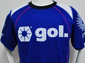 画像2: gol. プラクティスシャツハーフスリーブ ブルー
