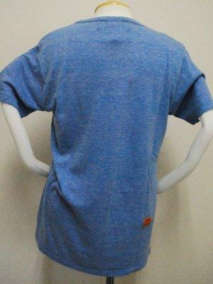 画像3: gol. キャプテン翼コラボ メランジTシャツ ブルー
