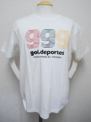 画像1: gol. 3g プリントTシャツ ホワイト