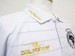 画像2: DalPonte ボーダーポロシャツ ホワイト
