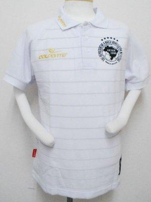 画像1: DalPonte ボーダーポロシャツ ホワイト