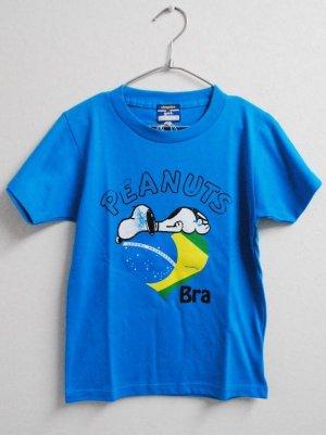 画像1: gol. スヌーピーコラボchicuitoTシャツ T.ブルー