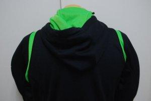 画像5: PENALTY トレスウェットパーカー ブラック×Fグリーン
