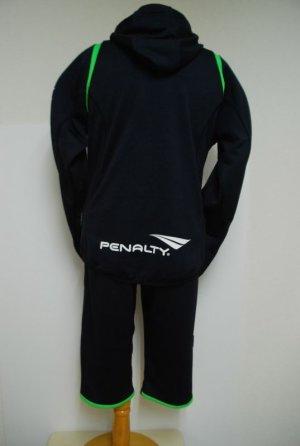 画像2: PENALTY トレスウェットパーカー ブラック×Fグリーン