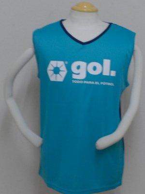 画像1: gol. ノースリーブインナー PCK×ネイビー