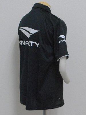 画像4: PENALTY  ジップポロシャツ ブラック