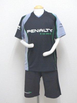 画像1: PENALTY ライトプラスーツ(上下セット) ブラック