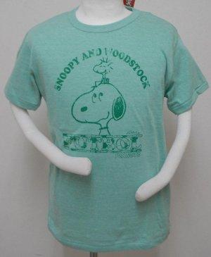 画像1: gol. 別注オリジナルPEANUTS Tシャツ ミント