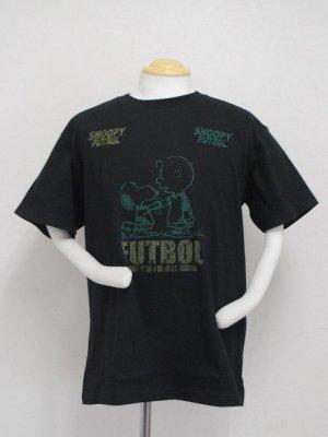 画像1: gol. 別注オリジナルPEANUTS Tシャツ ブラック