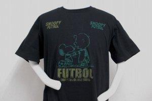 画像2: gol. 別注オリジナルPEANUTS Tシャツ ブラック
