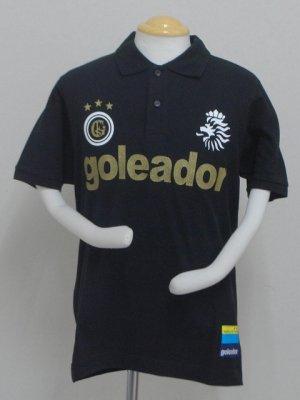 画像1: goieador ReiDoCampoポロシャツ ブラック