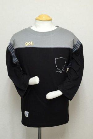 画像1: gol. クラシックFUTBOLシャツ ブラック