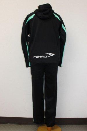 画像2: PENALTY トレスウェットパーカー&パンツ ブラック