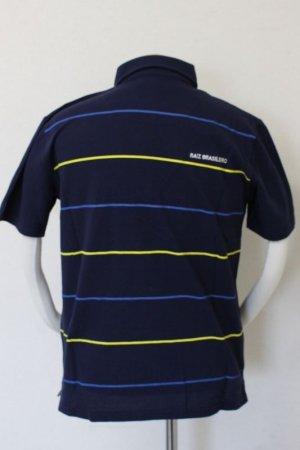 画像2: PENALTY ボタンダウンポロシャツ ネイビー