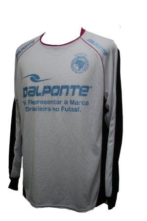 画像1: DalPonte 長袖プラクティスシャツ ホワイト
