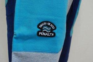 画像5: PENALTY スウェットハーフパンツ ネイビー×グレー