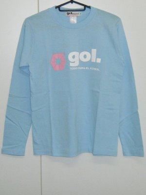 画像1: gol. BOYS長袖Tシャツ サックス