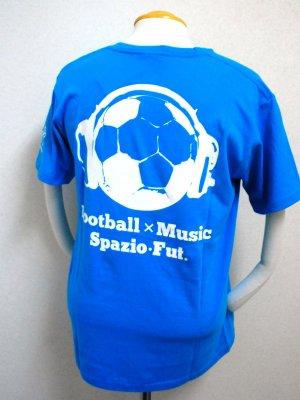 画像2: SPAZIO 2011ハートスカルTシャツ ターコイズ