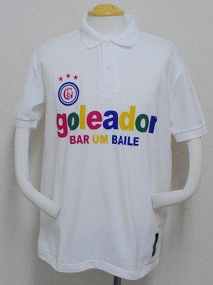 画像1: goleador PALETAポロシャツ ホワイト
