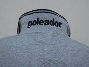 画像4: goleador 鹿の子フロッキープリントポロシャツ グレー
