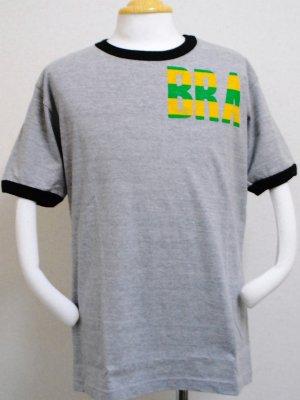 画像1: gol. BRA半袖Tシャツ GRY