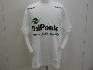 画像1: DalPonte 半袖Tシャツ WHITE