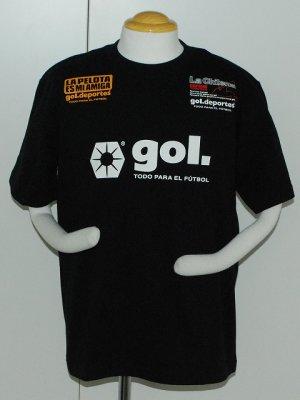 画像1: gol. キャプテン翼半袖Tシャツ ブラック