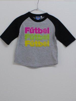 画像1: gol. TODDLER3/4スリーブラグランTシャツ ブラック