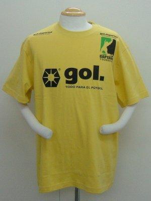 画像1: gol. キャプテン翼コラボTシャツA イエロー