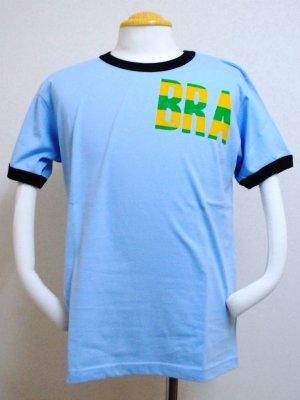 画像1: gol. BRA半袖Tシャツ SAX