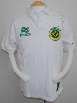 画像1: PENALTY ポロシャツ ホワイト