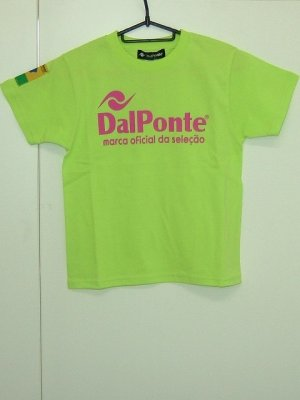 画像1: DalPonte キッズTシャツ ライトグリーン
