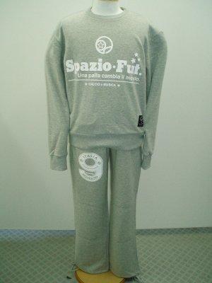 画像1: SPAZIO Novelloクルースウェット グレー