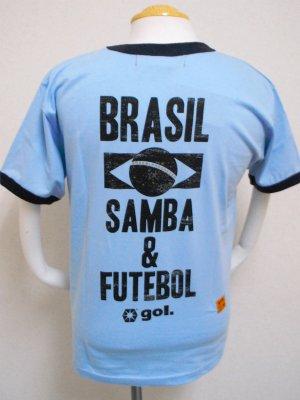 画像2: gol. BRA半袖Tシャツ SAX