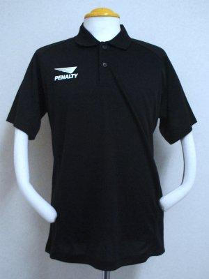 画像1: PENALTY ポロシャツ・エアロクール ブラック