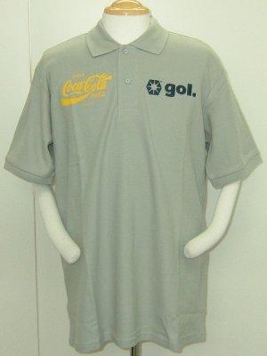 画像1: gol. CocaColaコラボポロシャツ ARGENTINA グレー