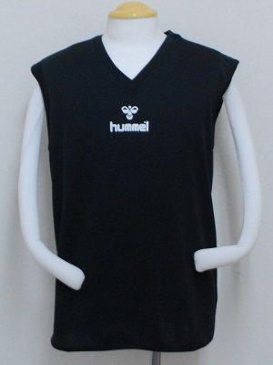 画像1: hummel インナーシャツ ブラック