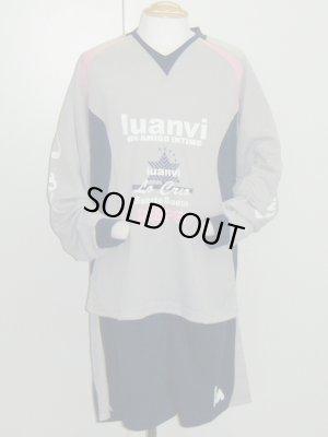 画像1: luanvi 長袖プラスーツ グレー