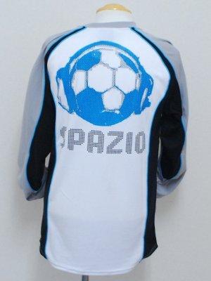 画像2: SPAZIO PUNTOプラクティスロングシャツ ホワイト