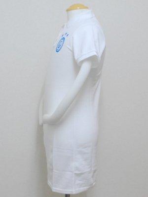画像4: goleador 鹿の子ロングポロシャツ ホワイト