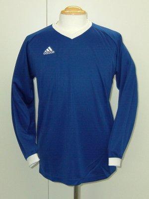 画像1: adidas KIDS BASIC TRシャツ ブルー×ホワイト