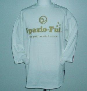 画像1: SPAZIO  Disco 7分Tシャツ ホワイト